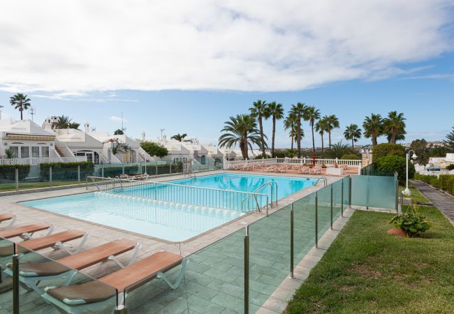 Bungalow/Linked villa in Maspalomas - Solarium Terrace Bungalow with Pool